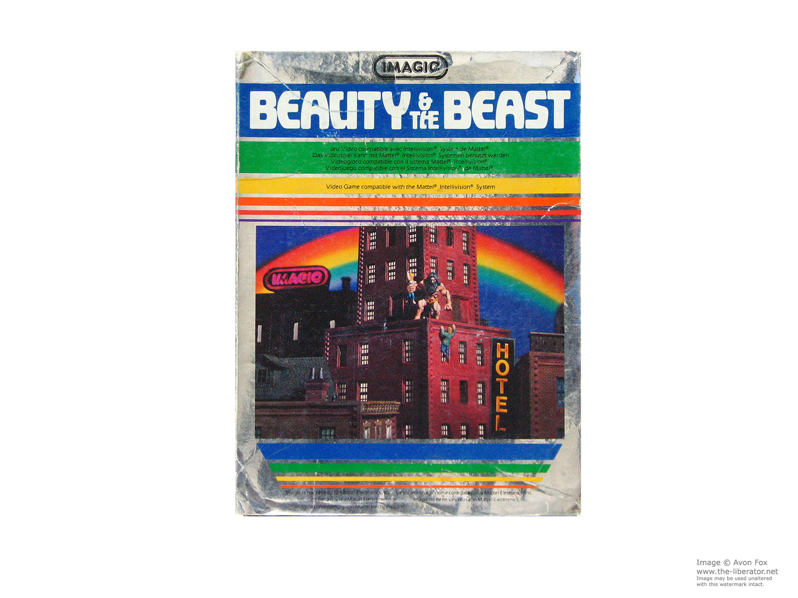 Mattel Intellivision Game Cartridges, Inserts, Box Art and ...