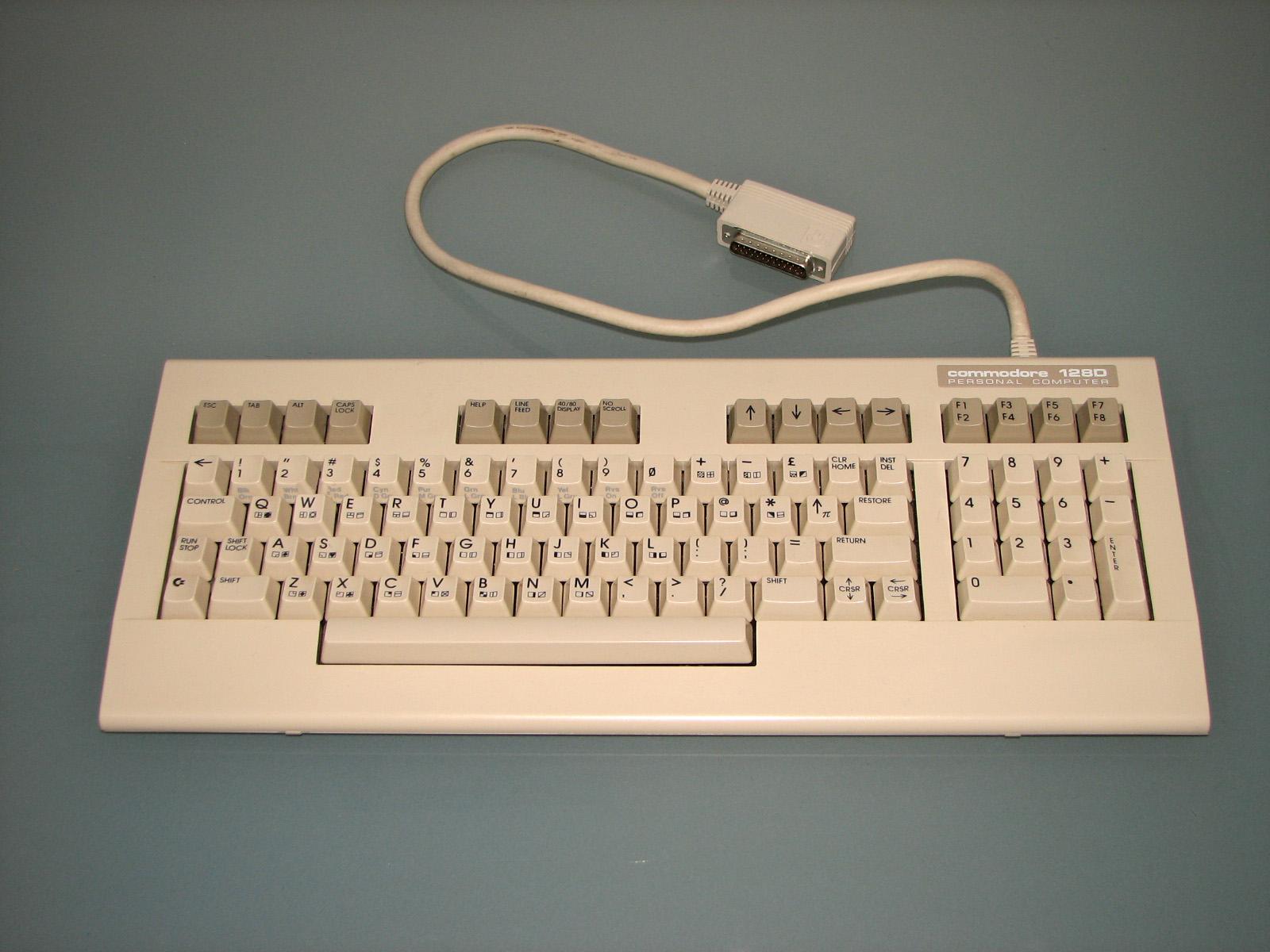 Commodore 128D / C128DCR Computer Rev 5