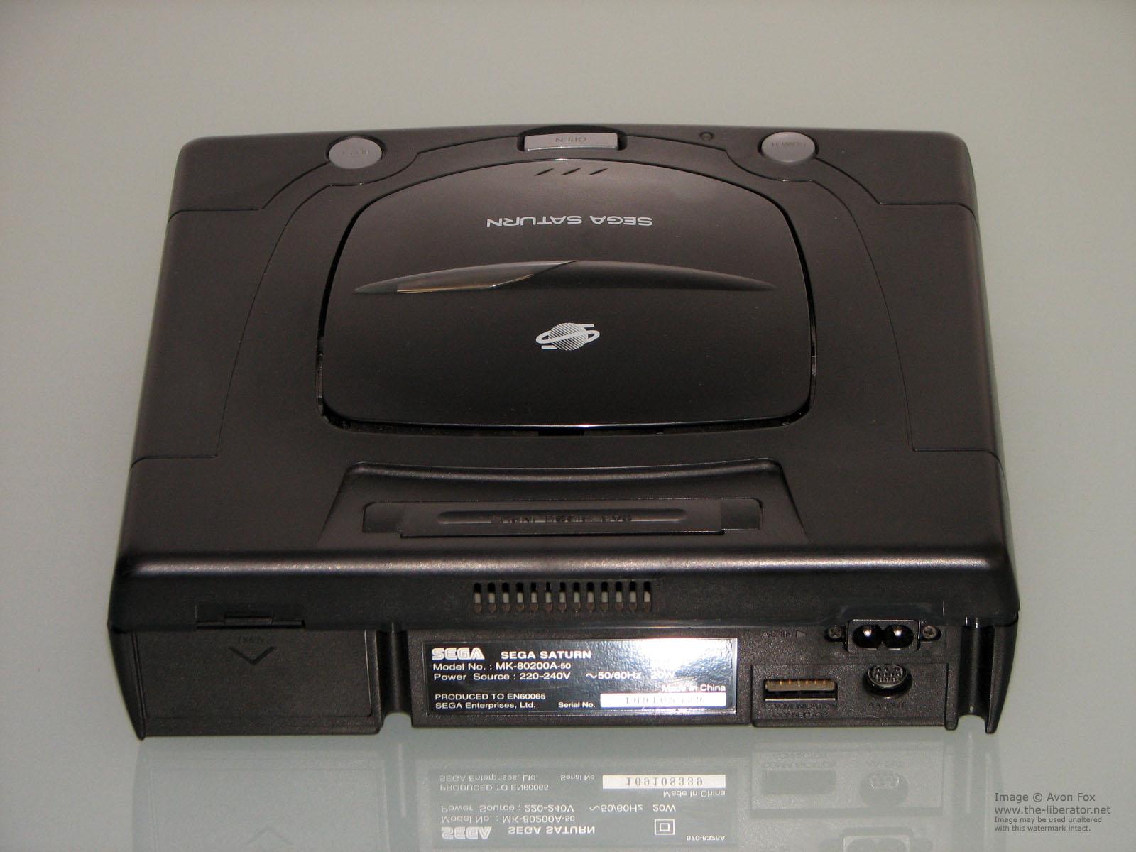 SEGA Saturn Game Console PAL Version